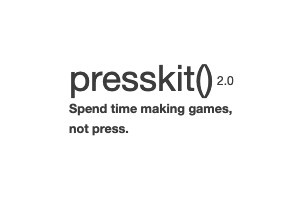 Presskit() For My Games